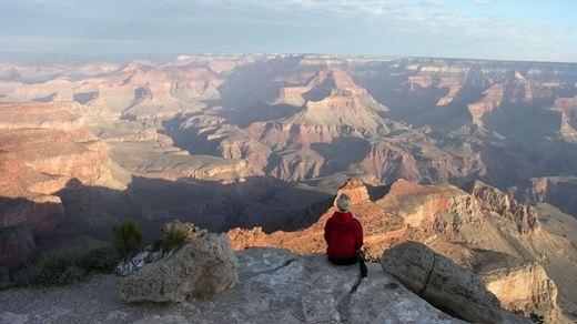 Udsigt over Grand Canyon, USA