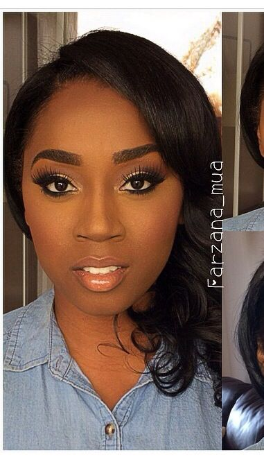 Natural Wedding Makeup For American : 1000+ ideas about African American Makeup on Pinterest ...