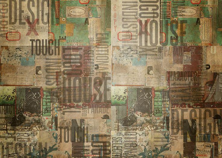 Oltre 25 fantastiche idee su soggiorno carta da parati su for Carta da parati maison du monde