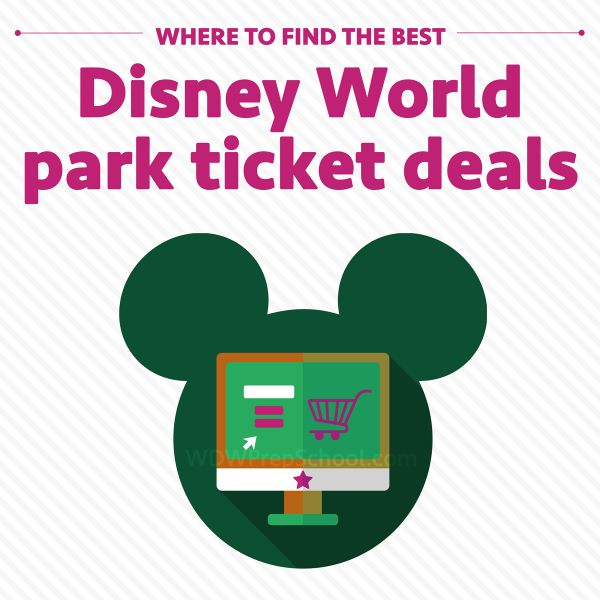 Includes the 2016 price updates! When people start planning Disney World trips, they're often shocked at how expensive park tickets are. Although huge discounts are fairly rare, there are some ways to save.   In this post, I've compared some popular sources for tickets and shown you where to buy...
