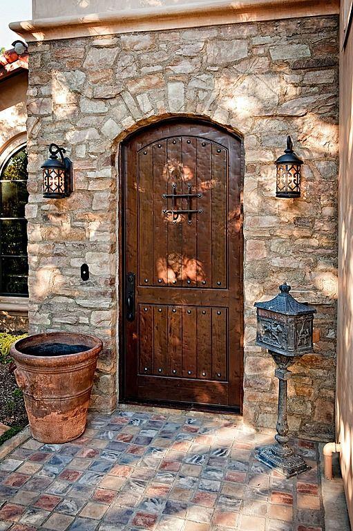 Best 25 mediterranean front doors ideas on pinterest for Mediterranean style front doors