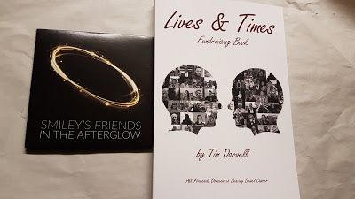 Lives & Times Fundraising Book : Copies Of The Lives & Times Bowel Cancer Charity Book Will Be On Sale At Smiley's Album Launch