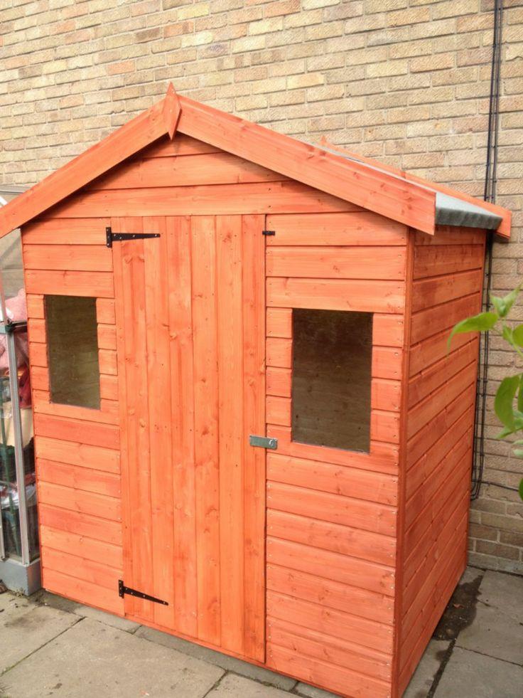 garden shed 6ft x 4ft storage potting shed shed ebay