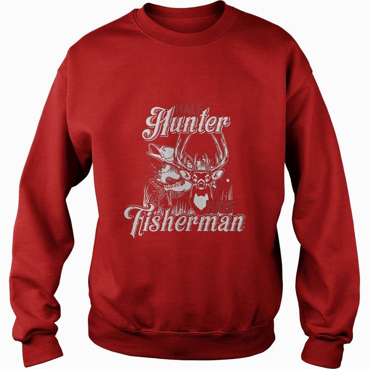 Half Hunter Half Fisherman Fishing hunting t-shirt, Order HERE ==> https://www.sunfrog.com/LifeStyle/114058329-433152924.html?47756, Please tag & share with your friends who would love it, #redhead humour funny, #redhead humour pictures, redhead humour people #birthdaygifts, #gift, #home  redhead sayings freckles, redhead sayings girls, redhead sayings blondes  #legging #shirts #tshirts #ideas #popular #everything #videos #shop
