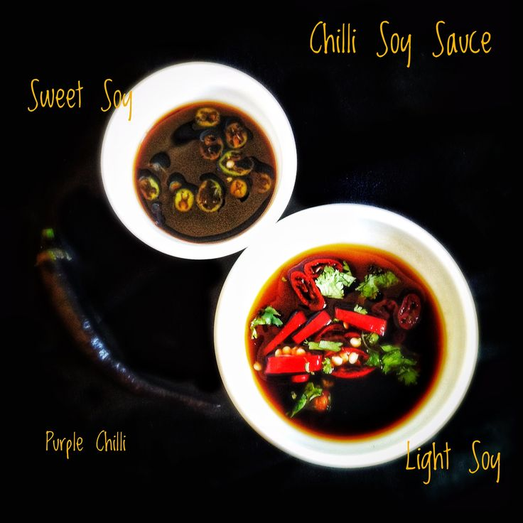 Chilli Soy Sauce and Dipping Sauce