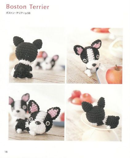 Free Crochet Dog Book - So Cute