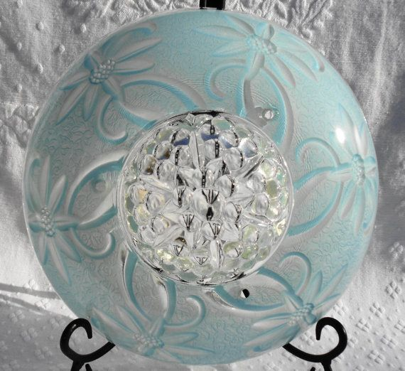 9 best vintage ceiling light covers images on pinterest ceiling vintage dome style ceiling light cover shade by disndatvintage on etsy 2500 mozeypictures Gallery