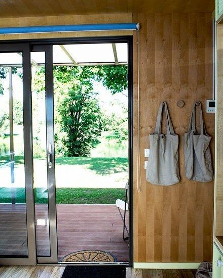 """BIG BERRY Story - Houses """"The mobile homes design is simple, modern and comfortable."""" By Allane from @packingmysuitcase  BIG BERRY mobile homes wear the Italian signature in design combined with innovative Slovenian solutions. Each house is pretty compact with 34m2 indoor and 12m2 of terrace, which gives plenty of space to move around and to organize personal properties. Every house has a bathroom, a modernly equipped kitchen, a living room, one or two rooms, and a terrace with a massage…"""