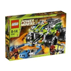 Lego Power Miners.... its always amused me that since you were 6 you could put these lego sets together in the shortest amount of time.... I love that you love these still.... I love how your mind works...