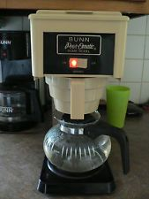 vintage retro bunn pour o matic coffee maker pot working with org box nice