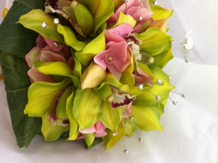 Detail of the bouquet.