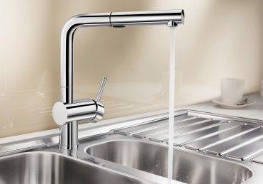 Küchenarmatur BLANCO LINUS - der Star unter den Küchenarmaturen