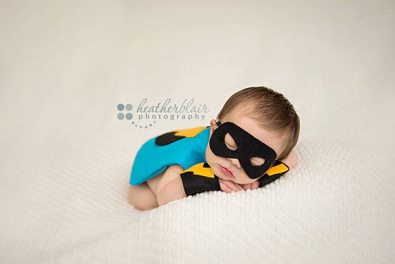 Captain Baby/ Baby Boy Super Hero Newborn by TheBellaBooBowtique, $35.00