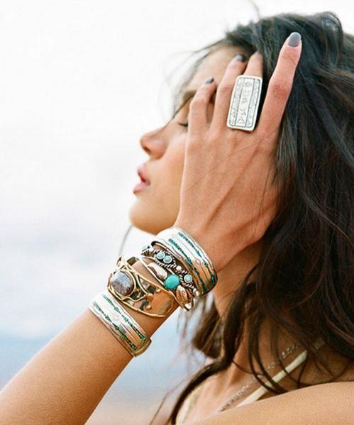 ;) bracelet stacks