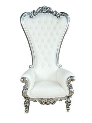 Absolom Roche Chair in Leatherette by Fabulous and Baroque