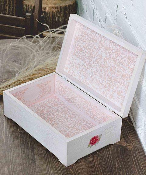 """Свадебные шкатулки для колец ◈ Авторский Киоск Вместительный короб для денег и подарочных конвертов """"Pink love"""" на свадьбу"""