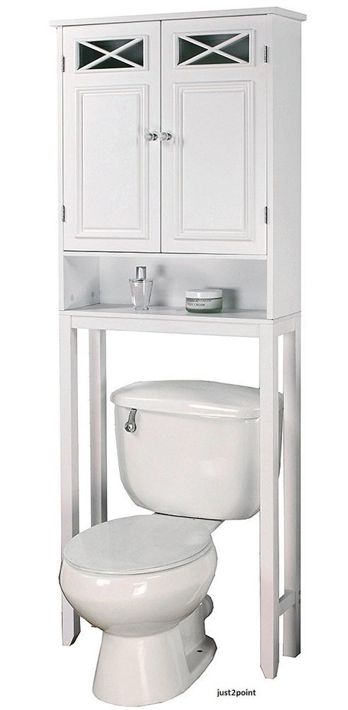 25 best ideas about over toilet storage on pinterest - Space saver furniture for bathroom ...