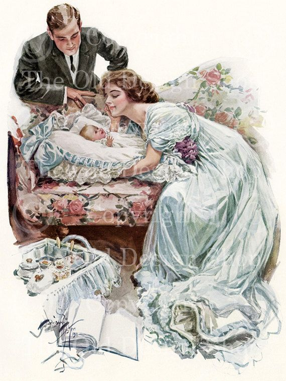 THEIR NEW LOVE Harrison Fisher Vintage Image by TheOldDesignShop, $4.00
