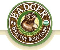 Badger Balm - the Tension/stress Soother and Muscle Rub are awesome. Smell delicious.