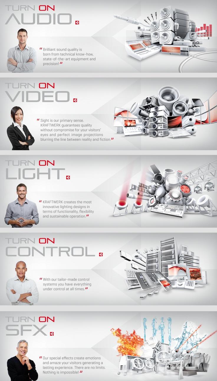 TURN ON UNITED TECHNOLOGIES | www.kraftwerk.at