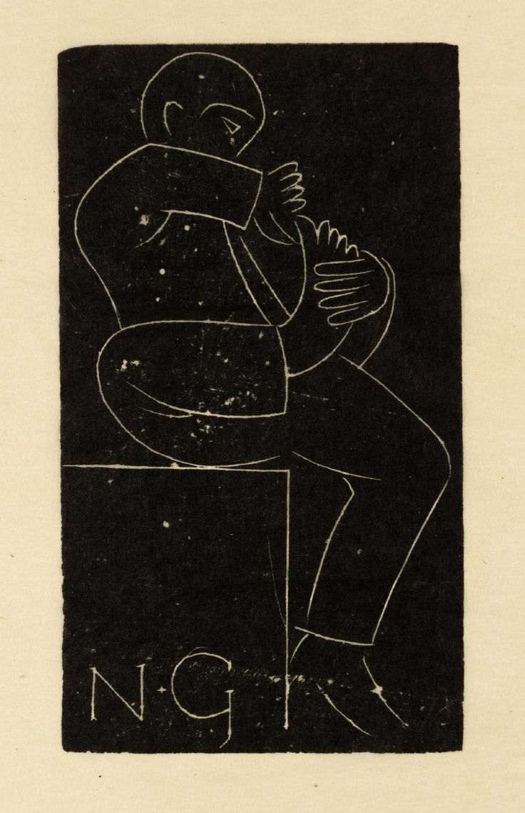 Eric Gill, 'Toilet' 1923