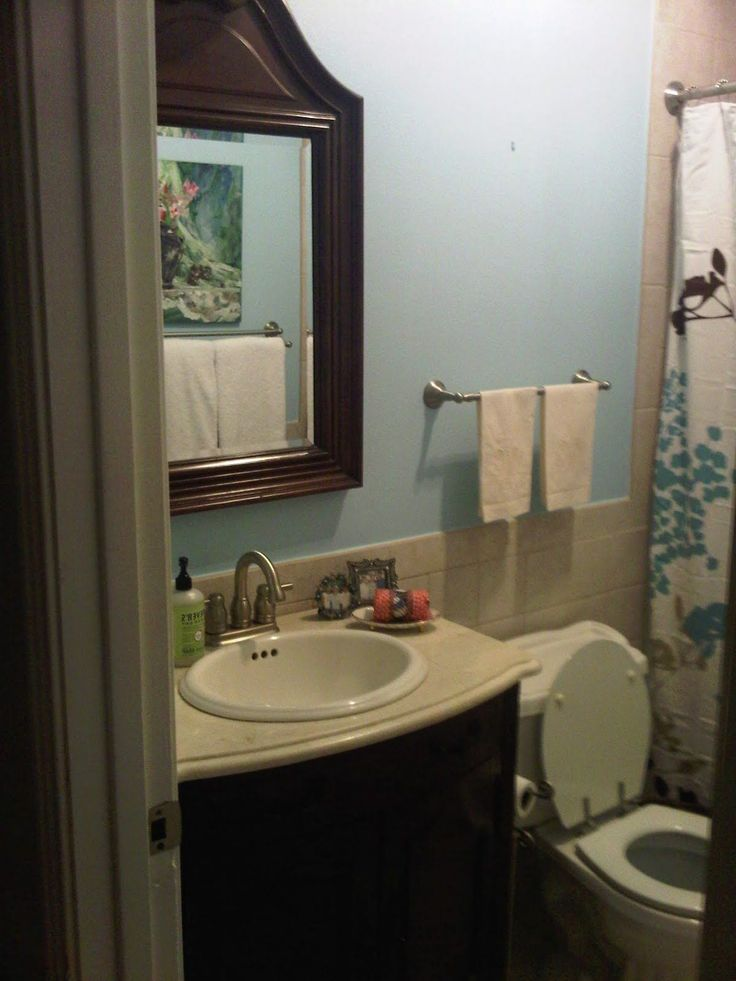 Small Bathroom No Window Paint Color Google Search ...