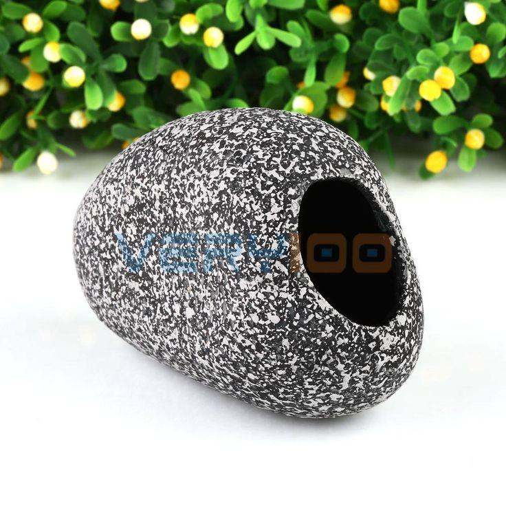 >> Click to Buy << New Aquarium Cichlid Fish Tank Ceramic Rock Cave Stone Ornament Decoration S M Free Shipping! #Affiliate