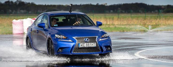 Lexus IS300h F sport drift on wet.  #lexus #drift #hybrid