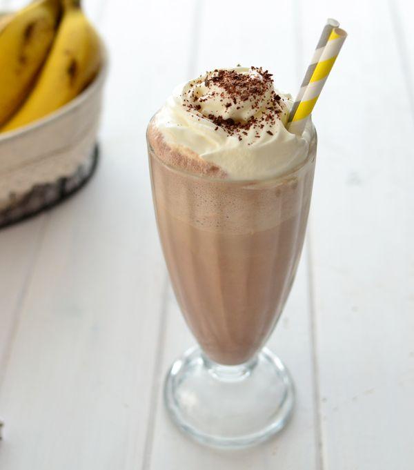 Chocolate milkshake - Batido de chocolate