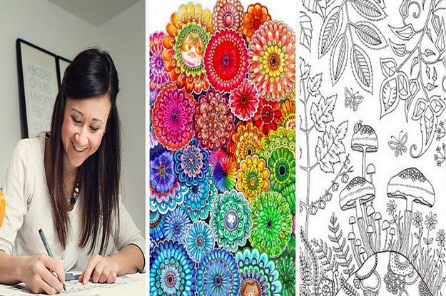 "Johanna Basford's first adult coloring book, Secret Garden, was translated into 14 languages, outselling the most popular cookbook in Paris. ""I think everyone has a creative spark; they just need t..."