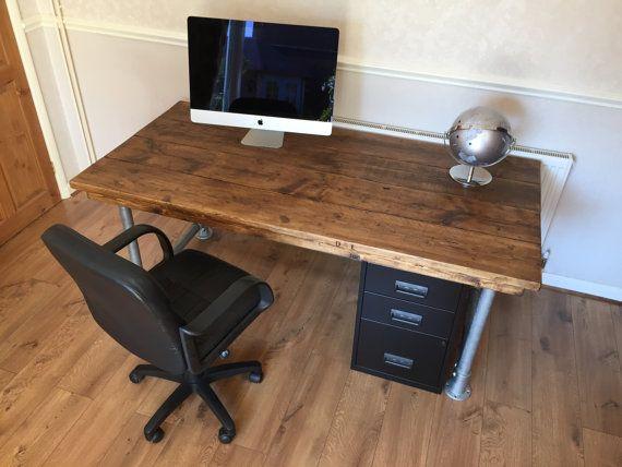 scaffold industrial desk urban industrial desk study forward computer