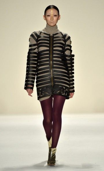 Katya Zol Fall Fashion Week NYC February 2014