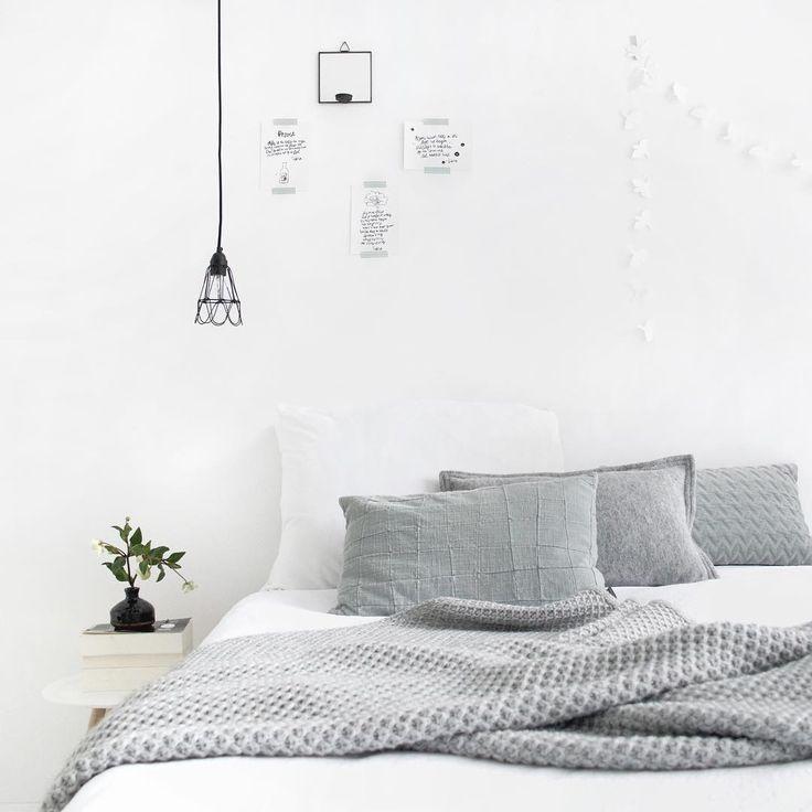 Scandinavian bedroom @tanjavanhoogdalem