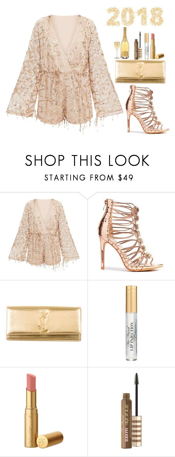 """""""Untitled #647"""" by dreamer3108 on Polyvore featuring Yves Saint Laurent, newyear and nye"""