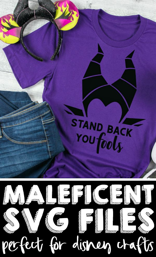 Maleficent SVG Files Disney halloween shirts, Disney
