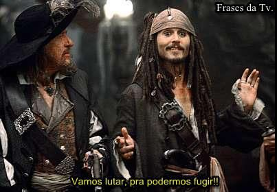 As Frases do Capitão Jack Sparrow - Piratas do Caribe 1, 2, 3 e 4! ~ Frases da Tv.