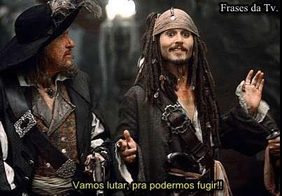 As Frases do Capitão Jack Sparrow - Piratas do Caribe 1, 2, 3 e 4! ~ Frases da Tv.