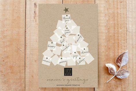 Sticky Notes Tree Custom Stationery by Roopali at minted.com