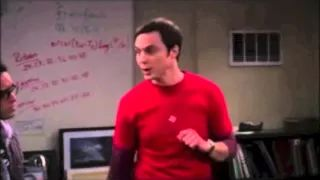 Videos of Sheldon from the Big Bang Theory in different Zones of Regulation.