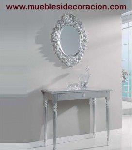 Espejo Barroco Tallado 0088 del catálogo de Mueblesidecoracion. Consulte nuestro catálogo completo haciendo click http://www.mueblesidecoracion.com/41-espejos