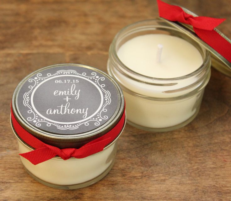 Wedding Favor Tags For Candles : Candle Wedding Favors on Pinterest Wedding souvenir, Candle favors ...