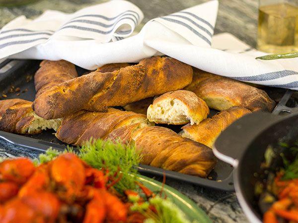Bröd med dill och fänkål