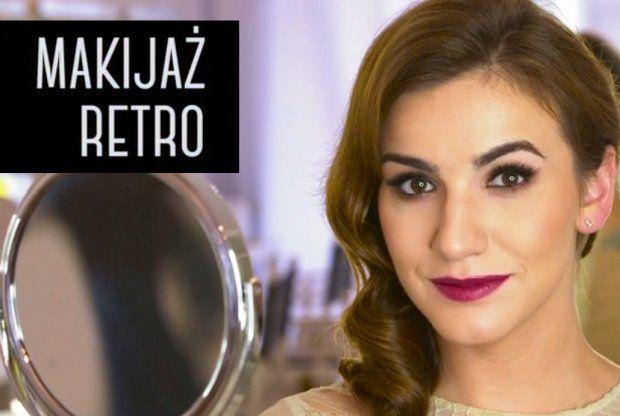 Wizażystka gwiazd Magdalena Pieczonka pokazuje, jak wykonać elegancki makijaż w stylu retro w nieco odświeżonej odsłonie.