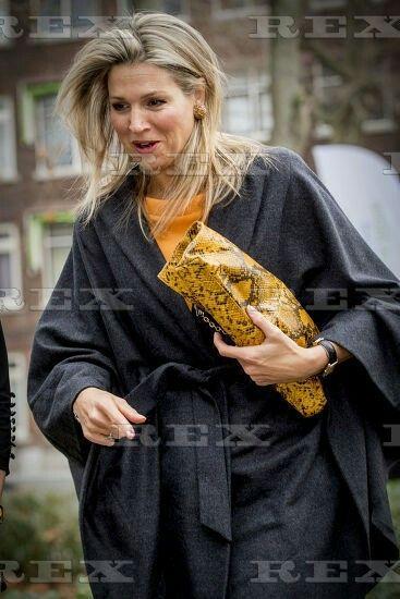 Queen Maxima visits the Thomas More Hogeschool, Rotterdam, The Netherlands - 07 Dec 2016 Queen Maxima 7 Dec 2016