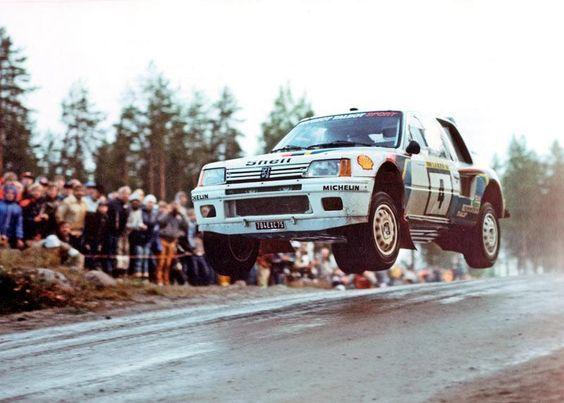 Rallye de Finlande 1984 : première pour la 205 T16