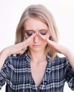 How to give yourself a sinus massage.  This helps to alleviate sinus pressure and headaches without medicating yourself.