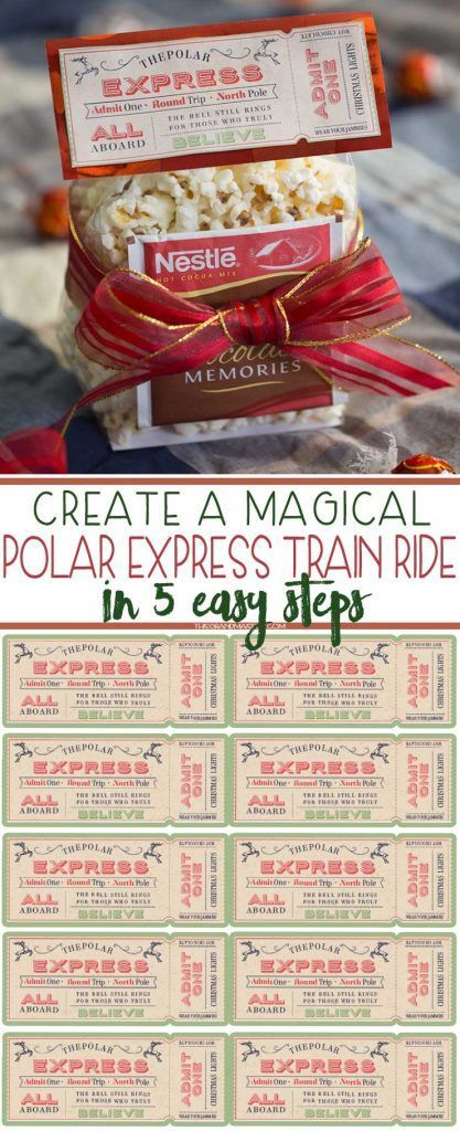 Watch the Christmas magic unfold as you plan this easy and fun Polar Express ride and Christmas lights scavenger hunt. Caution: You may have just created a tradition your grandkids will beg for every December!