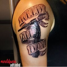 photos of welder tattoos | tattoos on Pinterest | Eagle Tattoos, Welding Tattoo and Eagles