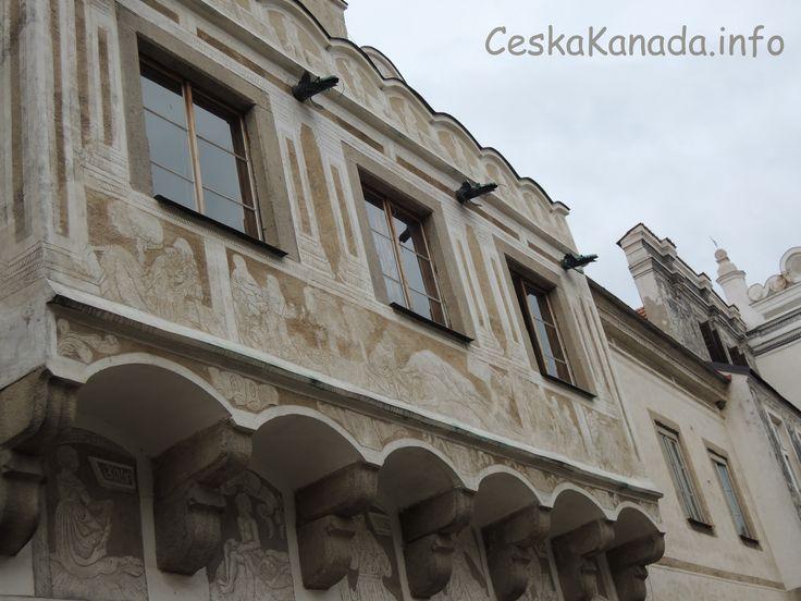 Renesanční fasády města Slavonice