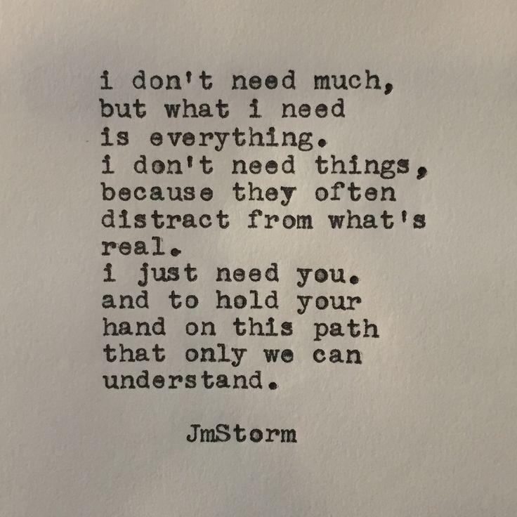— The path